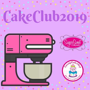 Basis MaandAbonnement CakeClub2019