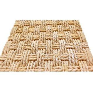 karen davies Karen Davies Siliconen Mould - Rustic Basket Weave by Alic
