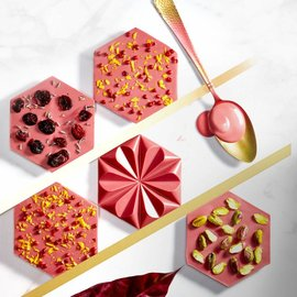 Callebaut Callebaut Chocolade Callets -Ruby- 500gram