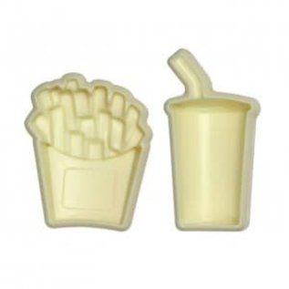 JEM JEM Pop It Mold Friet & Drinken