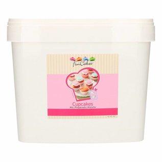 FunCakes FunCakes Mix voor Cupcakes 5kg -Emmer-