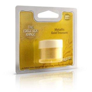 RainbowDust RD Edible Silk - Metallic Gold Treasure