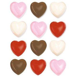 Wilton Wilton Candy Mold Mini Hearts