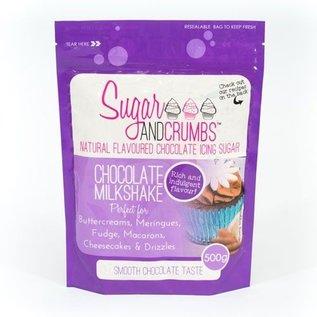 Sugar and Crumbs Sugar and Crumbs Icing Sugar -Chocolate Milkshake- 500g