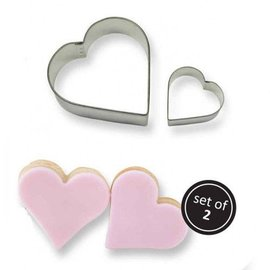 PME PME Cookie Cutter Heart set/2
