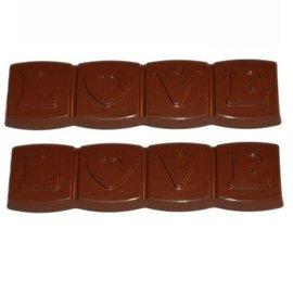 Chocolademal Love Tablet 13x3,5 cm
