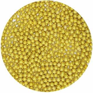 FunCakes Funcakes suikerparels 4 mm metallic goud 80g
