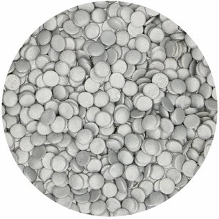 FunCakes FunCakes Confetti Zilver 60g