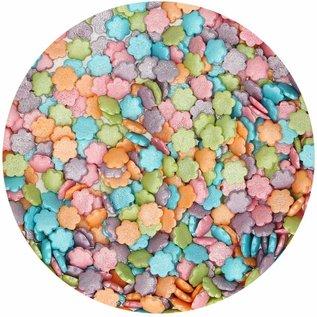 FunCakes FunCakes Metallic Bloemen Mix 70g