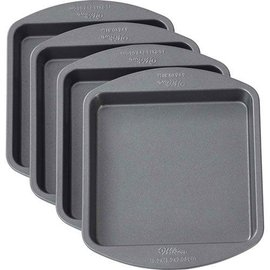 Wilton Wilton Square Cake Pan Easy Layers -15cm- Set/4