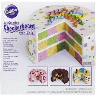 Wilton Wilton Checkerboard Cake Round  Set/4