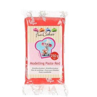 FunCakes FunCakes Modelling Paste Rood -250g-