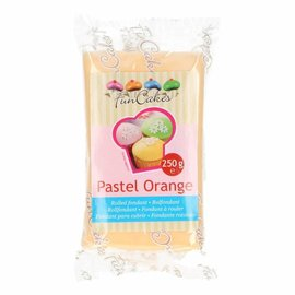 FunCakes FunCakes Rolfondant Oranje -Pastel Orange- 250g