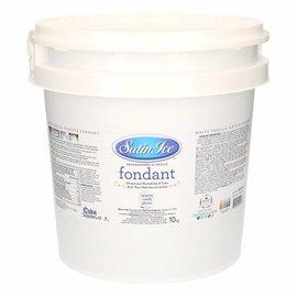 Satin Ice Satin Ice rolfondant White Vanilla - 10 kg