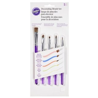 Wilton Wilton Decorating Brush/ kwast Set/5
