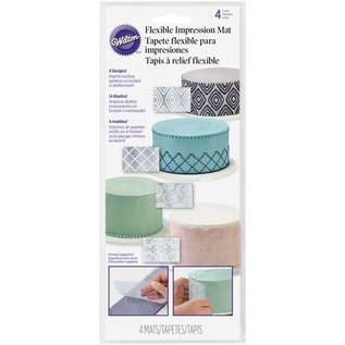 Wilton Wilton Impression Mats Set/4
