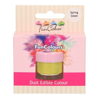 FunCakes Funcakes Edible Funcolours Dust - Spring Green