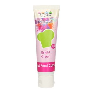 FunCakes FunCakes Edible FunColours Gel - Bright Green 30g