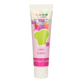 FunCakes FunCakes Edible FunColours Gel - Lime Green 30g