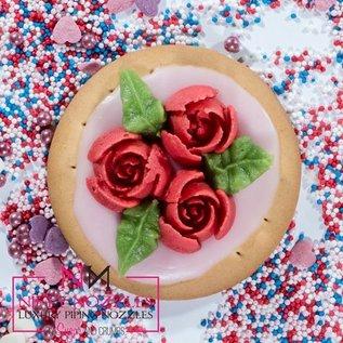 Sugar and Crumbs Sugar and Crumbs Nifty Nozzle -10 Petal Rose-