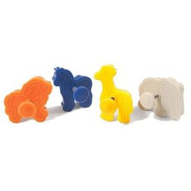 Silikomart Silikomart Wonder Cakes Plunger Cutter -Animals- set/4