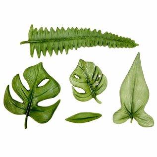 karen davies Karen Davies Siliconen Mould - Tropical Leaves