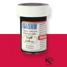 PME Food Colour Maroon Red