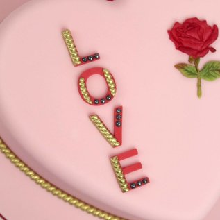 Katy Sue Katy Sue Mould Cake System LOVE Letters