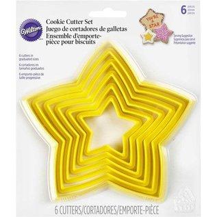Wilton Wilton Star Nesting Perimeter Cutter Set/6