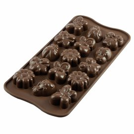 Silikomart Silikomart Chocolate Mould Spring Life Lente