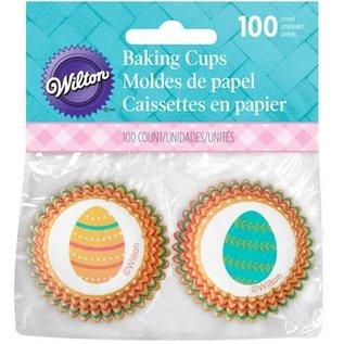 Wilton Wilton Mini Baking Cups Eggclectic pk/100