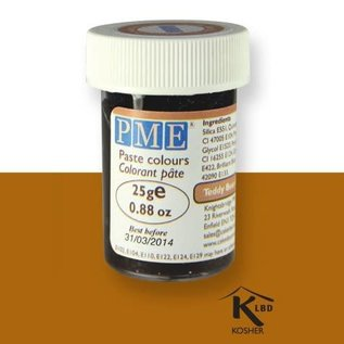PME PME Food Colour Tebby Bear Brown