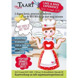 Mjam-Taart Cake and Bake Experience toegangskaart
