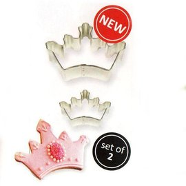 PME PME Cookie Cutter Crown/ Kroon set/2