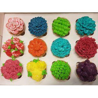 Jong&Oud Workshop CupCakes Opspuiten za 6 apr 10.30-12.30u
