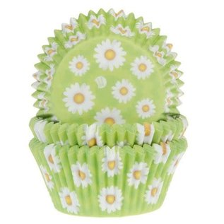 House of Marie HOM Baking Cups Daisy - pk/24
