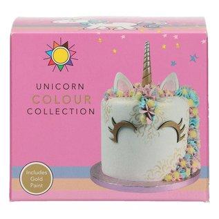 sugarflair Sugarflair Unicorn Collection Set/5
