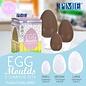 PME PME Egg Moulds set/3 Paas ei