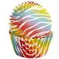 Wilton Wilton Mini Baking Cups Zebra Brights pk/100