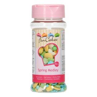 FunCakes FunCakes Sprinkle Medley -Spring- 50g