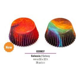 Decora Decora Galaxy Baking Cups pk/36