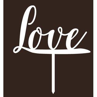 CakeTopper Love