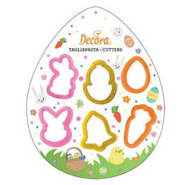 Decora Decora Pasen Mini uitstekers set/6