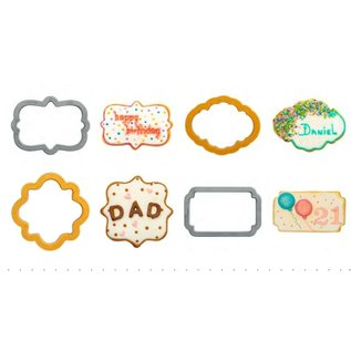 Decora Decora Plaque set/4