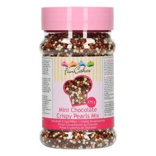 FunCakes FunCakes Mini Chocolade Crispy Pearls -Mix- 175g