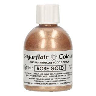 sugarflair Sugarflair Sugar Sprinkles -Rose Gold- 100g