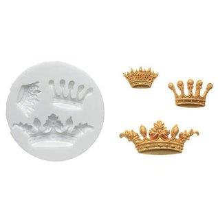 Silikomart Silikomart Sugarflex Mould -Crowns-