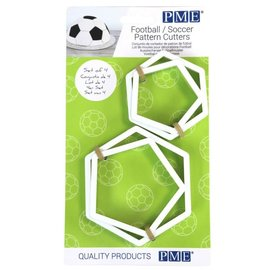 PME PME Football/Soccer Voetbal Cutters Set/4