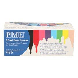 PME PME Paste Colours Kleurgels set/8