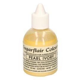 sugarflair Sugarflair Airbrush Colouring -Pearl Ivory- 60ml